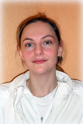 Bianka Kluge, Auszubildende im 2. Ausbildungsjahr